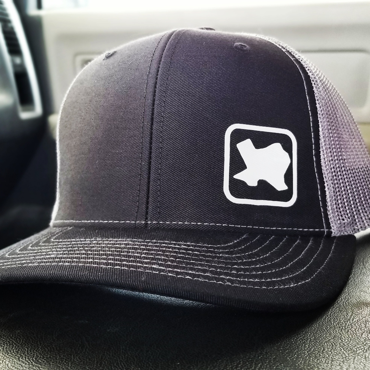 Black & Gray Texas Peeps Cap