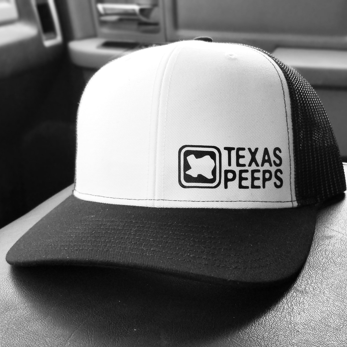 Texas Peeps Label Series Caps
